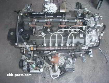 Контрактный двигатель Mitsubishi (Мицубиси) Outlander ASX 4N14 2.2 DiD Mivec
